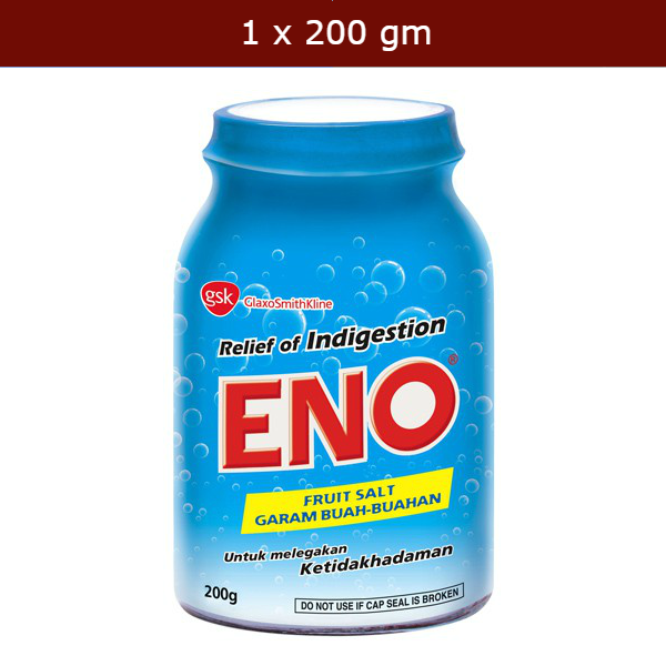 ENO Fruit Salt for bloated stomach discomfort & indigestion - 200g