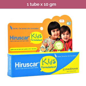 HIRUSCAR for kids visibly reduces scars and marks on delicate children skin-10g