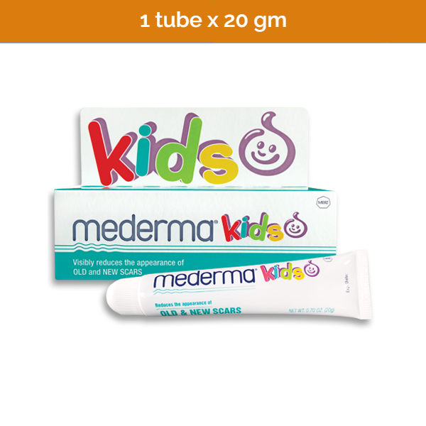 20g MEDERMA scar gel for kids - visibly reduces scars and marks on delicate skin