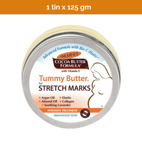 PALMER'S Cocoa Tummy Butter for stretch marks - 125 gm