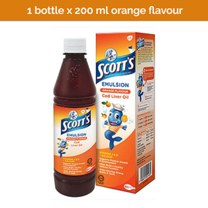 SCOTT'S COD Liver Oil Emulsion Vita Orange Flavour for kids