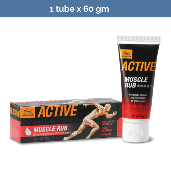 TIGER BALM Active Muscle Rub for pre-sport warmup - 60g