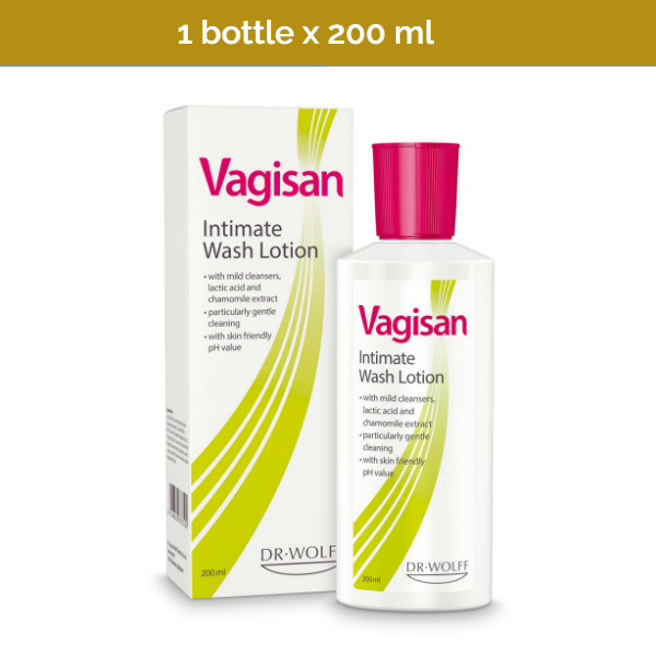 VAGISAN Intimate Wash Lotion for maintaining vaginal hygiene - 200 ml