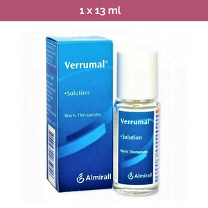 VERRUMAL Solution for effective removal of warts & corns