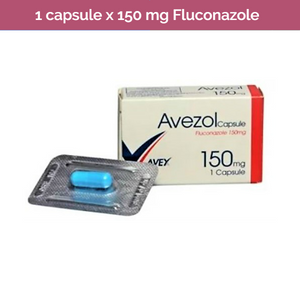 AVEZOL FLUCONAZOLE 150mg a single dose to treat Candida genital thrush infection