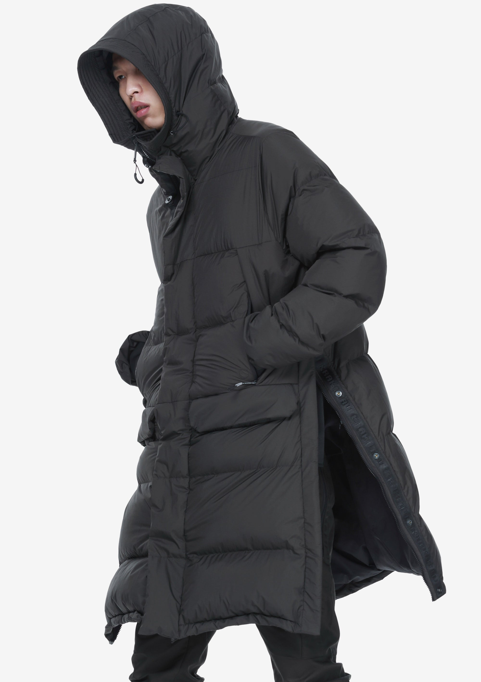 Long Down Jacket Qm276-5 AITKEN