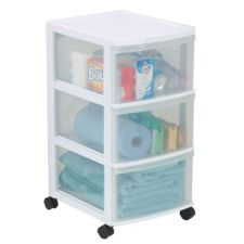 3 Drawer Storage Tower, 26 in.