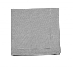Linen Look Grey Napkins