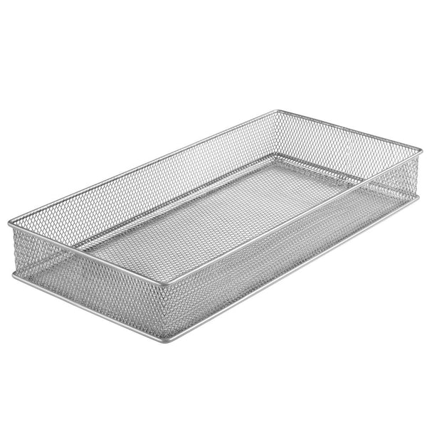 Silver Mesh Drawer Cabinet and or Shelf Organizer 15x6