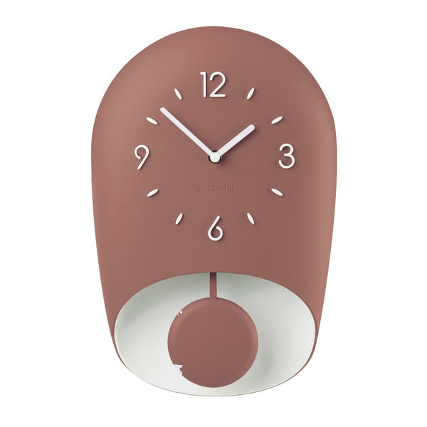 Guzzini BELL WALL CLOCK 'HOME', Ruby