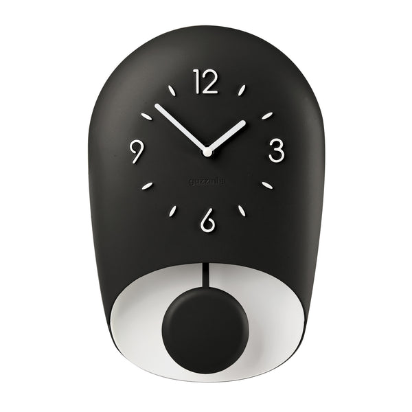 Guzzini BELL WALL CLOCK 'HOME' Black