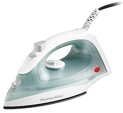Proctor Silex Durable Steamer Laundry Iron with Nonstick Soleplate and Adjustable Steam