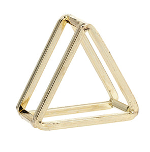 Triangle Napkin Ring Gold