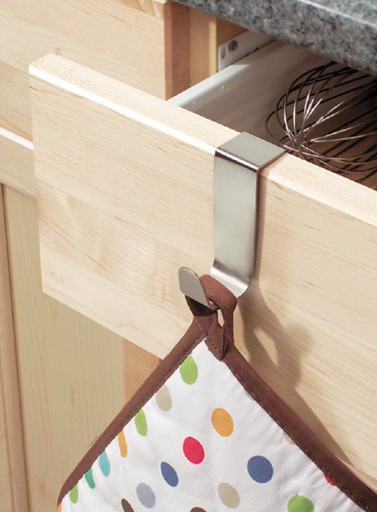 Interdesign Over The Cabinet Hook Cabinet Stainless Steel 2-1/2