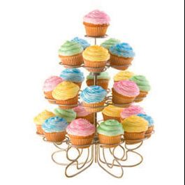 WILTON MINI CUPCAKES 'N MORE STAND, 24 CT