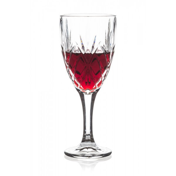 Brilliant - Ashford Lead Free Crystal Clear Wine Glass 10oz. (300ml) Set of 4