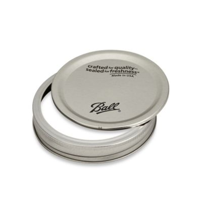 Ball Wide Mouth Canning Lid