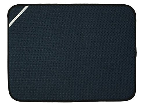 Envision Home Dish Drying Mat - 18 × 24 - Black (Xl)