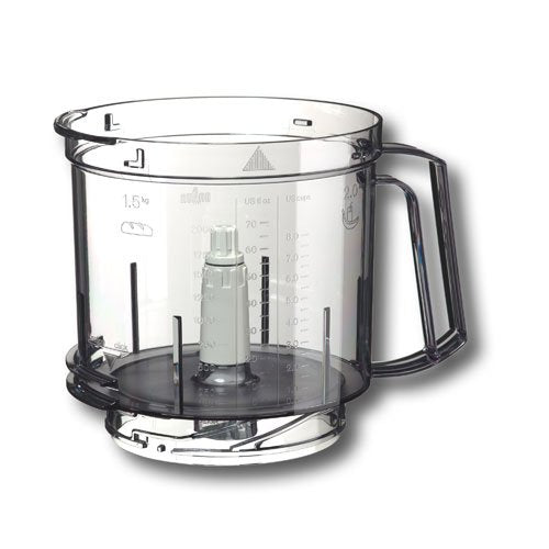 BRAUN - TRANSPARENT BOWL FOR MULTIFUNCTION BRAUN FOODPROCCESOR