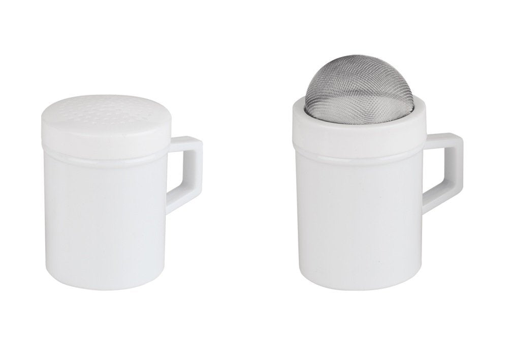 Better Houseware  Plastic Shaker (Set of 2), White