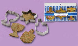 RITE LITE LTD METAL CHANUKAH COOKIE CUTTERS