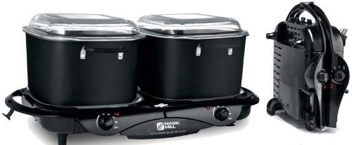 Magic Mill Double 8.5qt Slow Cooker