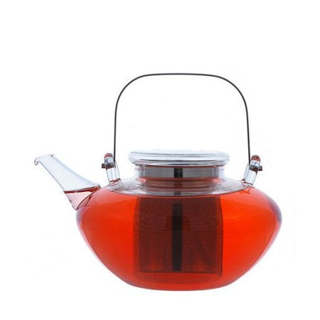Grosche Tuscany Glass Teapot with Stainless Steel Infuser 1200 ml