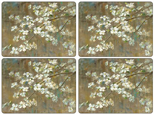 Pimpernel Dogwood in Spring Placemats - Set of 4