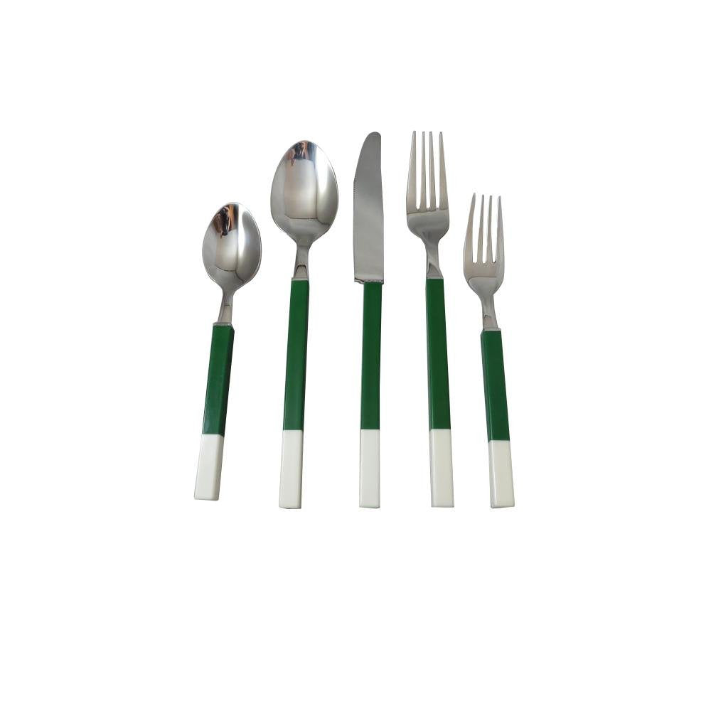 Prestige Cutlery Northfield Boxed Knife Set, Stainless/Green