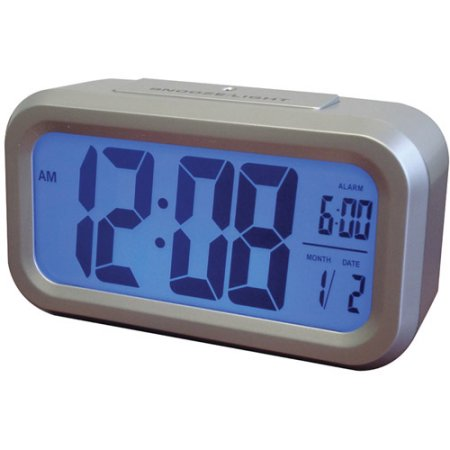 Westclox Smart Backlight Alarm Clock