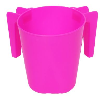 Plastic Washing Cup Pink