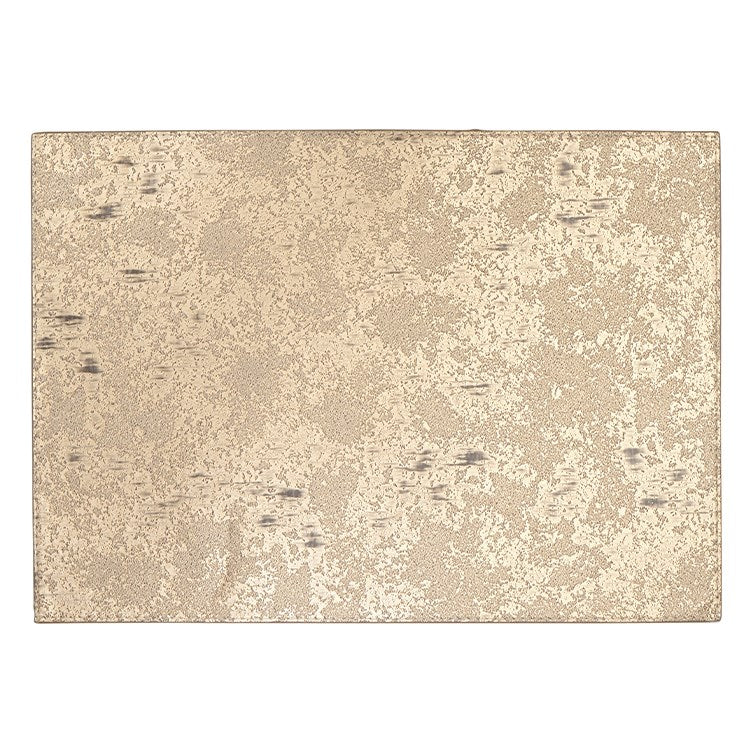 Marble Reversible Vinyl Placemat Gold