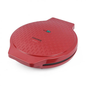 "Courant 12"" Electronic Pizza Maker, Red"