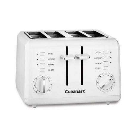 CUISINART CPT-142C 4-Slice Compact Toaster, White