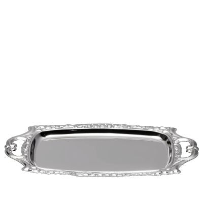 Tray For Candles Silver Plated