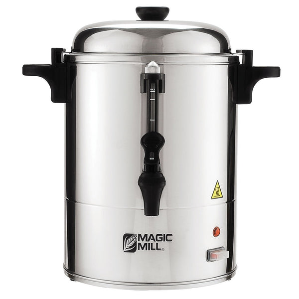 Magic Mill 25 Cup Water Boiler - Stainless Steel