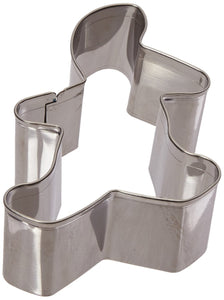 Fox Run Gingerbread Boy Cookie Cutter, 3-Inch, Stainless Steel