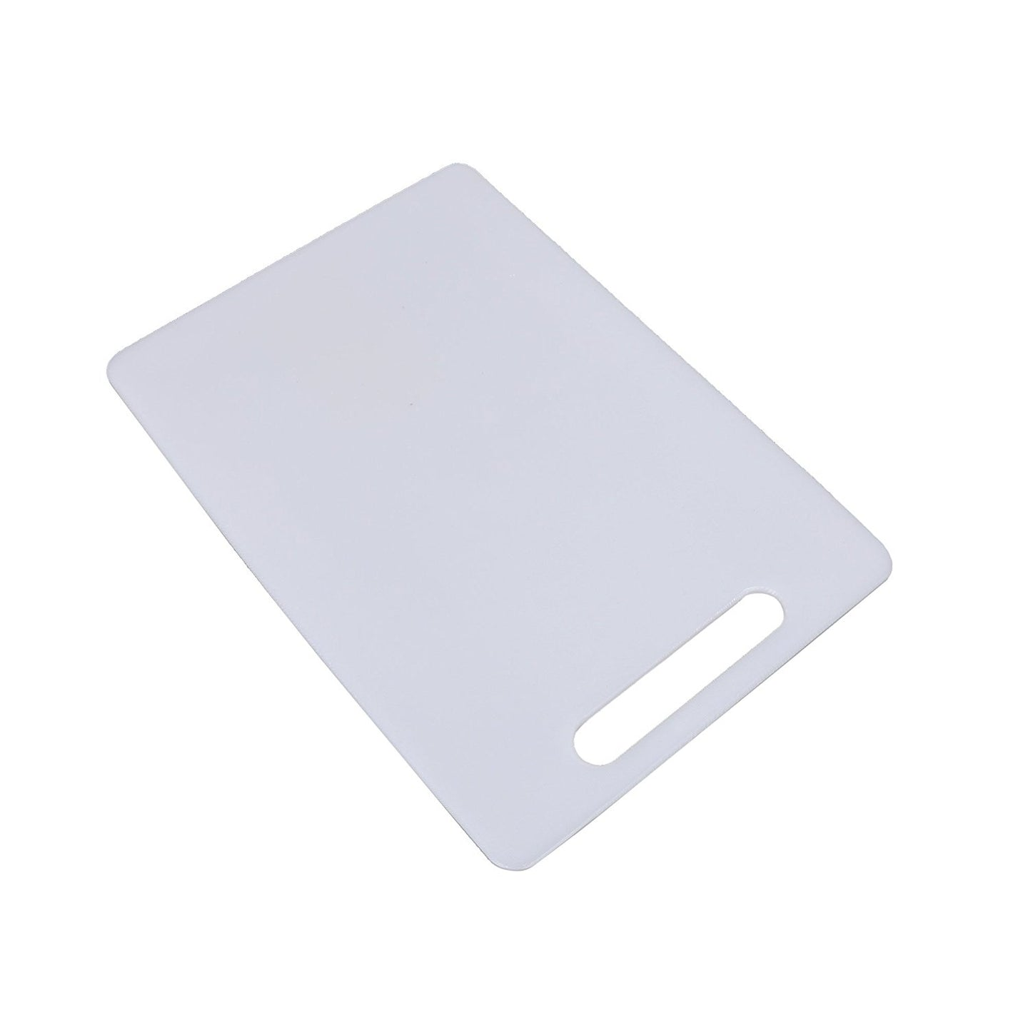 Luciano, 12 x 8.3 x 0.2 inches, Plastic Cutting Board, White