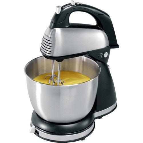 Hamilton Beach 6-Speed Classic Stand Mixer - Stainless Steel