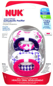NUK Orthodontic Pacifier, 0-6 Months