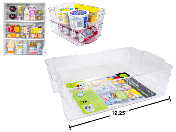 Fridge Storage Bin, label