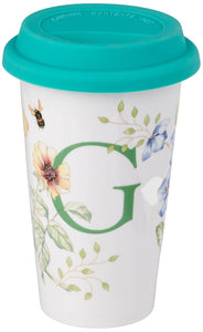 Lenox Butterfly Meadow Thermal Travel Mug, G