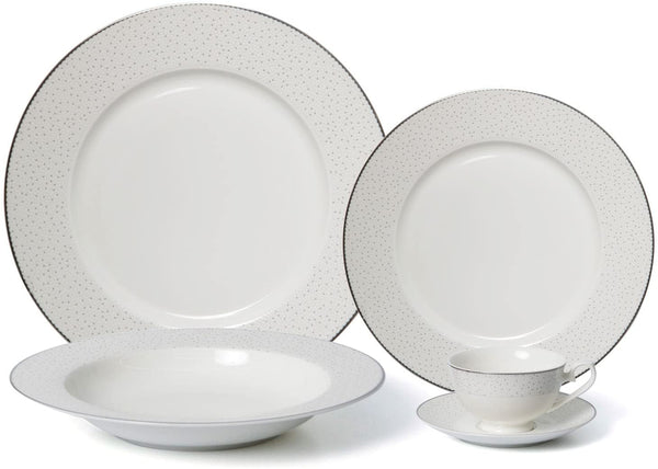 Stardust Gold Fine Bone China 20Pc Set