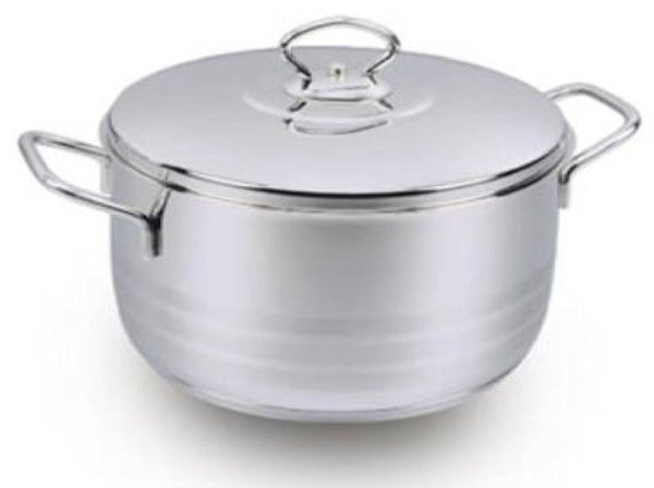 Korkmaz Stockpot with Lid (22qt)