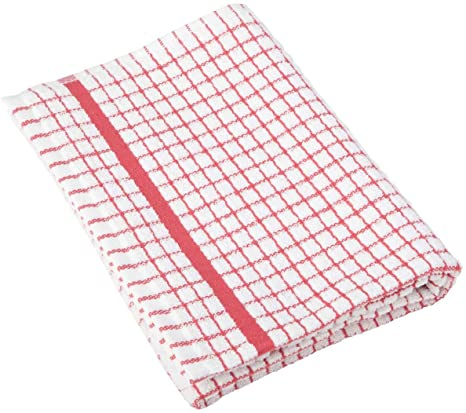 Poli-Check Red Dish Towel