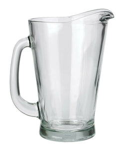Anchor Hocking Beer Wagon Pitcher 55 Oz Crystal