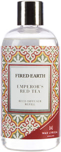 Fired Earth Emperors Red Tea Reed Diffuser Refill, 200ml
