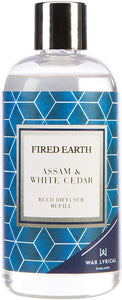 Fired Earth Assam & White Tea Reed Diffuser Refill Pack 200ml