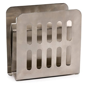 RSVP Endurance Stand It Up Stainless Steel Napkin Holder