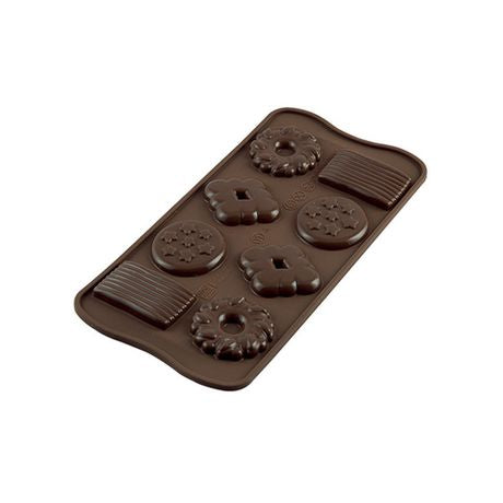 Silikomart Platinum Silicone Biscuit Chocolate Mould